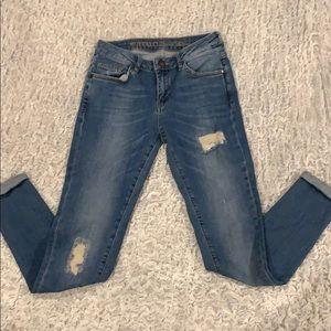 Buffalo David Bitton Ankle Grazer Skinny Jeans 27